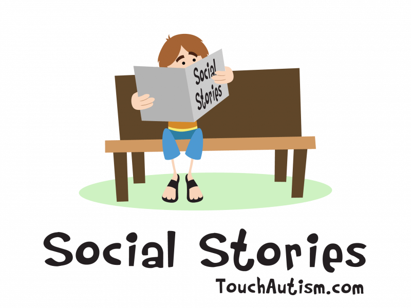 picture relating to Free Printable Social Story Template known as Cost-free Social Tale Author AppTouch Autism