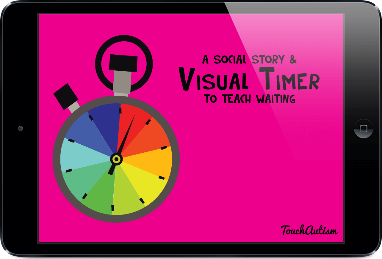 visual timer social story apptouch autism